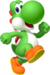 Artwork of Yoshi from Fortune Street (also used in Mario & Sonic at the Rio 2016 Olympic Games)