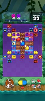 Stage 332 from Dr. Mario World since version 2.1.0