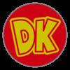 Donkey Kong emblem from Mario Kart 8
