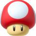 Mushroom in Mario Kart 8