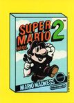 A sticker of the Super Mario Bros. 2 box art from the Nintendo Game Pack tip card #1