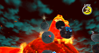 SMG2 Melty Monster Magnificent Magma Sea.png