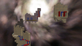 """A screenshot of Flip-Out Galaxy during the """"Wicked Wall Jumps"""" mission from Super Mario Galaxy 2."""