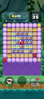 Stage 335 from Dr. Mario World since March 18, 2021