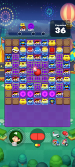 Stage 651 from Dr. Mario World