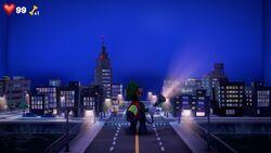 Studio 5: City Set from Luigi's Mansion 3