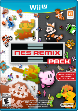 Cover art of NES Remix Pack