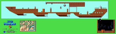 Super Mario Bros. 3 World 1-A Map