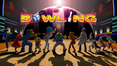 Bowling title screen.