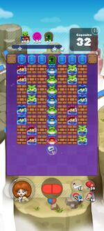 Stage 847 from Dr. Mario World