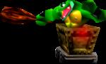 Krash in Donkey Kong 64.