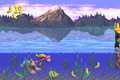 Lakeside Limbo GBA swimming.png