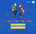 Make four with Mario pause screen.png
