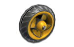 Metal tires from Mario Kart 8