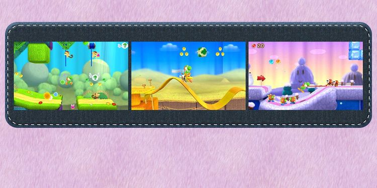 The image for the 2nd question of Poochy & Yoshi's Woolly World Fun Personality Quiz