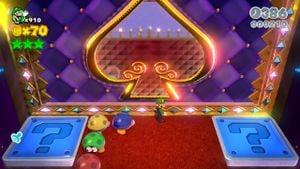 Hidden Luigi in Switch Scramble Circus.