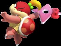 Artwork of Pom Pom from Super Mario Party