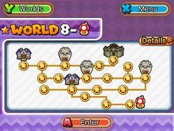 ★World 8 Map