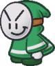 A Big Bandit from Paper Mario: The Thousand-Year Door.