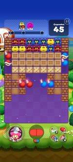Stage 255 from Dr. Mario World since version 2.0.0