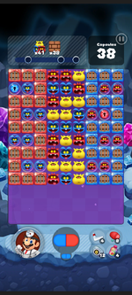 Stage 484 from Dr. Mario World