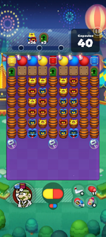 Stage 677 from Dr. Mario World