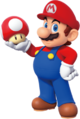 Mario holding a mushroom (updated artwork).png