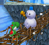 A Mr. Blizzard in Super Mario 64 DS
