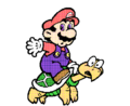 SMBPW Mario on Turtle.png