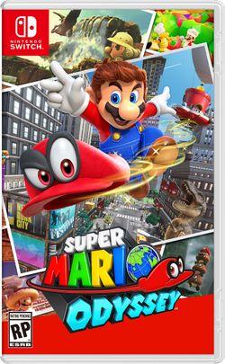 Super Mario Odyssey - NTSC Box art