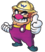 Wario giving a thumbs up