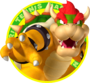 The icon artwork for Bowser from Mario Tennis Open