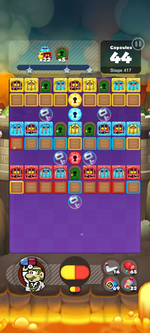 Stage 417 from Dr. Mario World