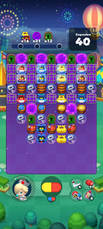 Stage 663 from Dr. Mario World