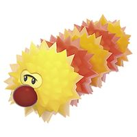 A Fuzzler from Super Mario 3D World.