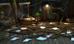 The Laboratories segment from Luigi's Mansion: Dark Moon.