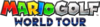 English Logo for Mario Golf: World Tour