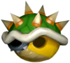 Bowser's Shell in Mario Kart: Double Dash!!.