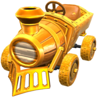 Gold Train from Mario Kart Tour
