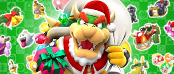The Winter Pipe 1 from the Winter Tour (2020) in Mario Kart Tour