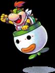 Artwork of Bowser Jr., from Mario & Luigi: Paper Jam