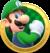Artwork of Luigi in Mario Party: Star Rush.