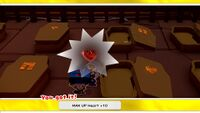 MAX UP Heart +10 from the Temple of Shrooms in Paper Mario: The Origami King