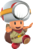 Rendered model of Captain Toad in Super Mario Odyssey.