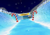 Everfrost Peak, from Diddy Kong Racing.