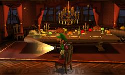 The Dining Room segment from Luigi's Mansion: Dark Moon.