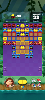 Stage 346 from Dr. Mario World