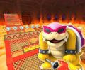 GBA Bowser's Castle 1R/T from Mario Kart Tour