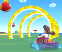 The icon of the Hammer Bro Cup challenge from the Marine Tour in Mario Kart Tour.