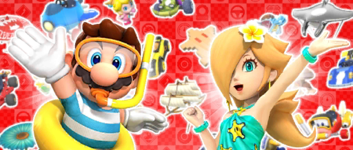 The Summer Pipe 2 from the Summer Tour in Mario Kart Tour